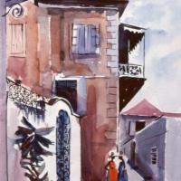 Larry Gluck's Original Watercolors